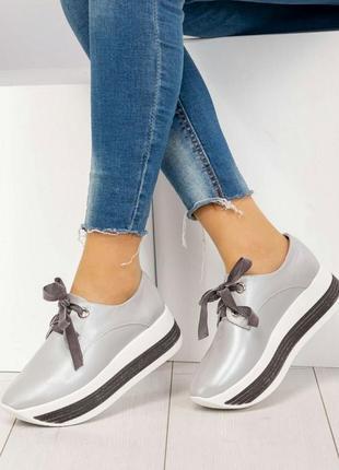 Элитная коллекция кроссовки на толстой подошве