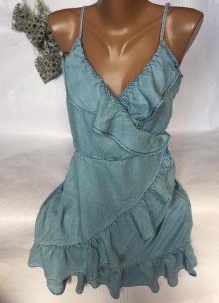 Шикарное  легкое , платье сарафан