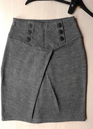 Итальянская мини юбка трикотажная rinascimento 8 s 10 m