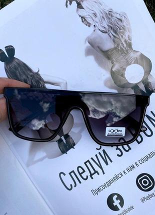 Женские очки 😎 маска черные