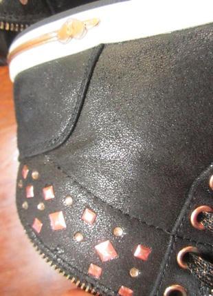 Стильные крутые ботинки кеды skechers,р.3510 фото