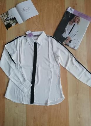 Рубашка, блуза с лампасами