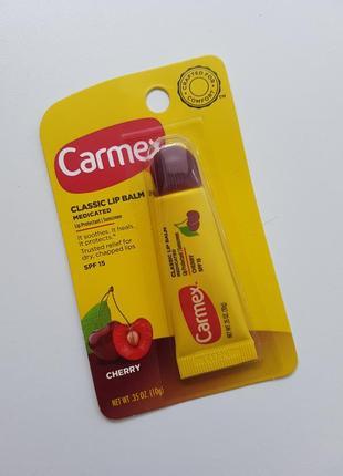 Бальзам для губ carmex с спф, вишня 🍒