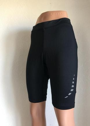 Шорты черные crivit спортивные эластичные, одежда для спорта