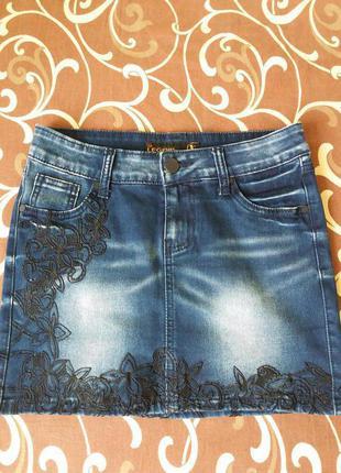 Юбка джинсовая   legend jeans