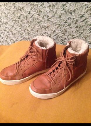 Ботинки осень-зима zara