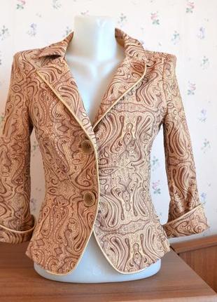 Суперстильный дорогой пиджак