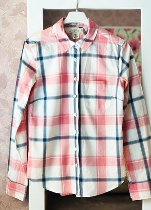 Рубашка женская в клеточку h&m