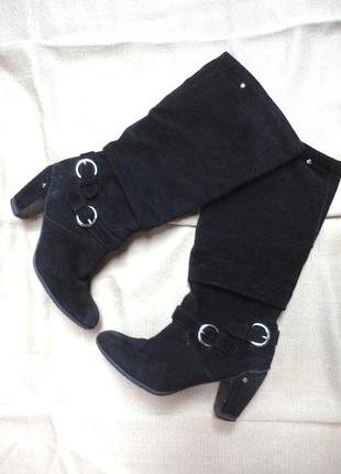Комфортные кожа сапоги bata ,качество и удобно,36 раз