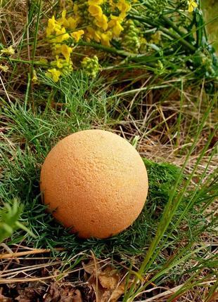 """Перламутровая бомбочка для ванн """"апельсин"""""""