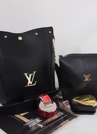 Женская сумка экокожа комплект (арт.л2356)
