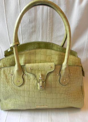 Сromia-кожаная сумка италия