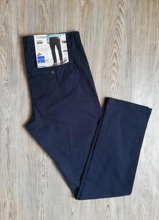 Качественные мужские брюки штаны чиносы livergy 52 немецкий