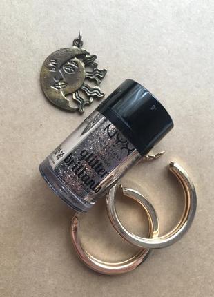 Глиттер для лица и тела face & body glitter bronze