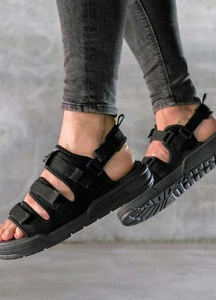 """Сандалі new balance sandals """"black"""" сандалии боссоножки босоніжки"""