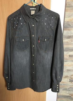 Джинсова рубашка levy's