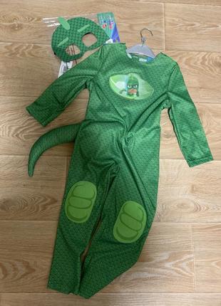 Костюм геко на праздник для мальчика