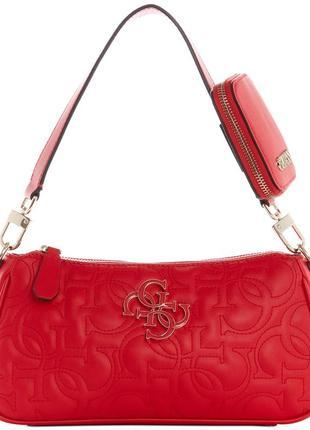 Guess сумочка {сумка гесс} красная оригинал kamryn shoulder bag новая коллекция