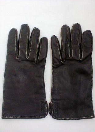 Перчатки  из  натуральной кожи  от esprit.
