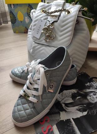 Кеды мокасины кроссовки guess размер 39 гесс оригинал