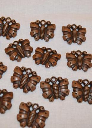 Фурнитура для рукоделия, браслетов бабочки (13 штук)