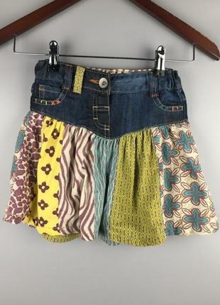 Фирменная джинсовая юбочка