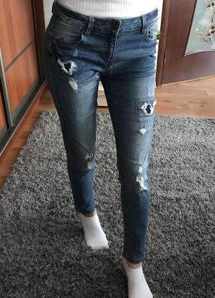 Джинсы джинси штаны штани cropp