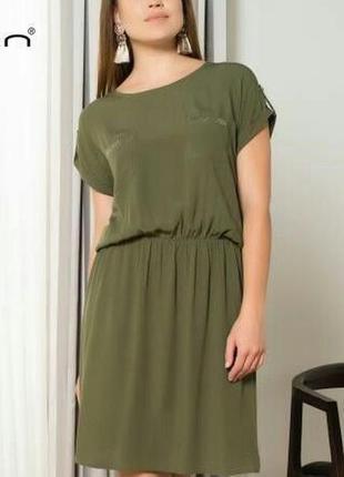 Платье летнее, офисное на каждый день штапель турция