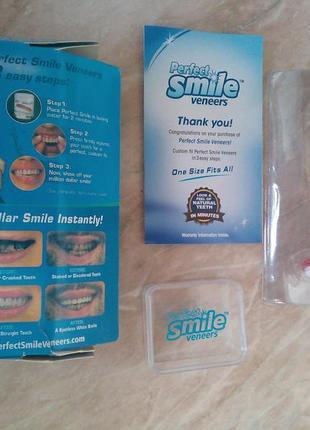 Вінер для зубів perfect smile veneers (съемный винир для красивой улыбки)2 фото