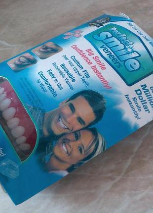 Вінер для зубів perfect smile veneers (съемный винир для красивой улыбки)3 фото