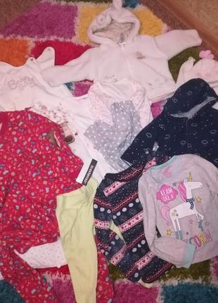 Пакет детской одежды для девочки 0-24 мес