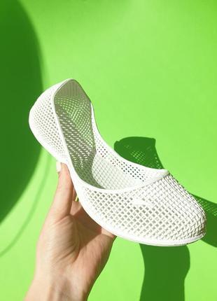Резиновые балетки  in-ox силиконовые туфли тапочки