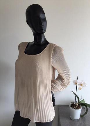 Блуза-плиссе цвета пудры,12