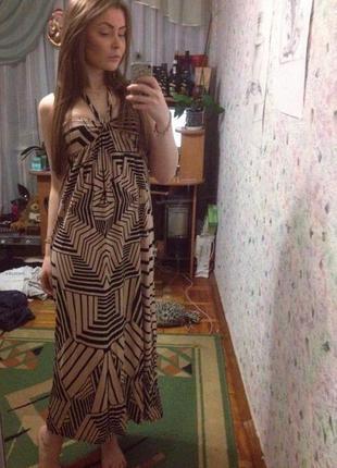 Безумно крутое платье макси oasis