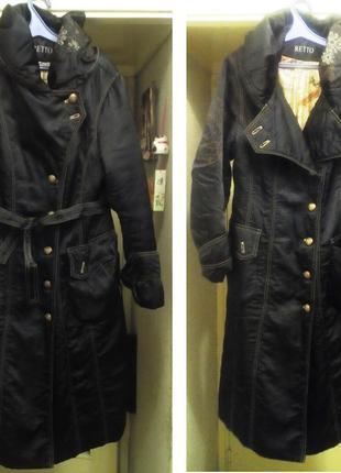 Длинное пальто осень/зима