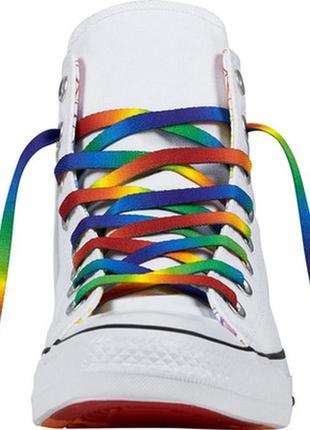 Кеды converse + белые шнурки
