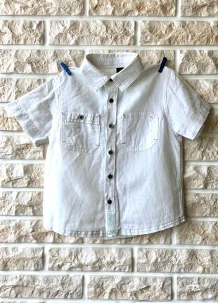 Льняная тениска