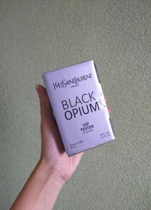 #тестер vip качество! 60 ml#black opium  200грн