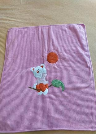 Красивое мягенькое одеялко -покрывало