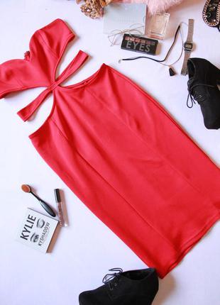 Шикарное коктельное выпускное платье миди
