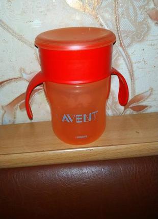 Avent чашка нерозливайка или поилка