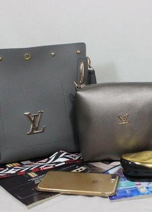 Женская сумка экокожа комплект (арт.л2401)