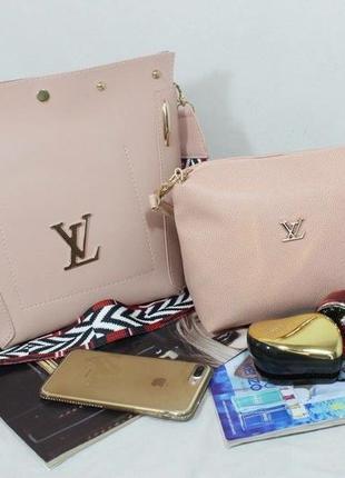 Женская сумка экокожа комплект (арт.л2402)