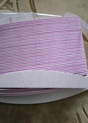 Пилочка для ногтей гелевых 100*180, 180/240 и 100*1204 фото