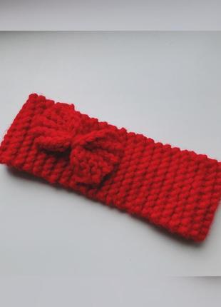 Повязка, повязка на голову, ручная вязка