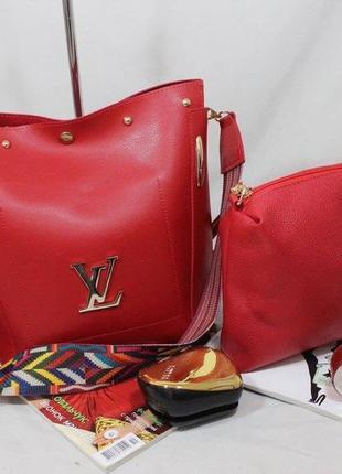 Женская сумка экокожа комплект (арт.л2424)