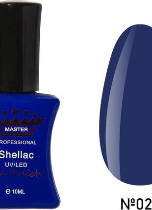Гель-лак master #029 , синий