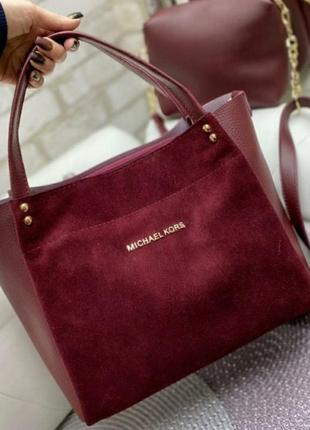 3.  комплект: сумка и клатч
