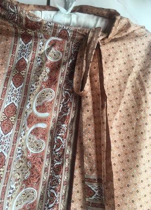 Шёлковая юбка шовк