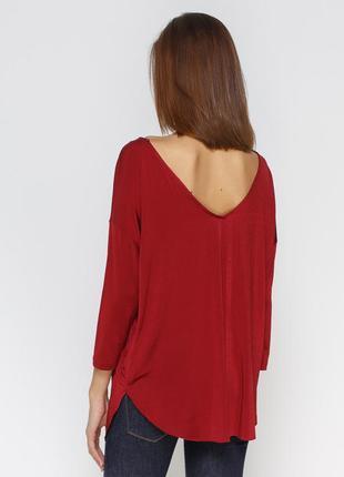 Sale блуза вишневоно цвета stradivarius, p.m